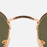 Солнцезащитные очки Ray-Ban Hexagonal Flat Lenses Gold/Silver Flash фото- 4