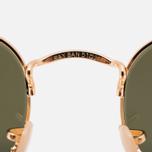 Ray-Ban Hexagonal Flat Lenses Sunglasses Gold/Silver Flash photo- 4