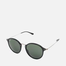 Солнцезащитные очки Ray-Ban Round Fleck Classic Green/Black/Silver фото- 1