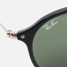 Солнцезащитные очки Ray-Ban Round Fleck Classic Green/Black/Silver фото- 2