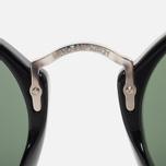 Ray-Ban Round Fleck Classic Sunglasses Green/Black/Silver photo- 4
