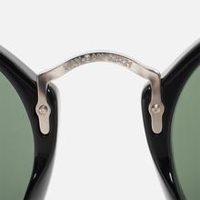 Солнцезащитные очки Ray-Ban Round Fleck Classic Green/Black/Silver фото- 4