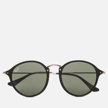 Солнцезащитные очки Ray-Ban Round Fleck Classic Green/Black/Silver фото- 0