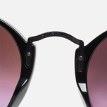 Солнцезащитные очки Ray-Ban Round Fleck Green Gradient Flash/Black фото- 4