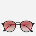 Солнцезащитные очки Ray-Ban Round Fleck Orange Gradient Flash/Black фото- 0