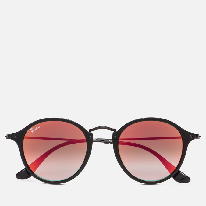 Солнцезащитные очки Ray-Ban Round Fleck Orange Gradient Flash/Black