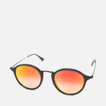 Солнцезащитные очки Ray-Ban Round Fleck Orange Gradient Flash/Black фото- 1