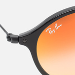 Солнцезащитные очки Ray-Ban Round Fleck Orange Gradient Flash/Black фото- 2