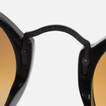 Солнцезащитные очки Ray-Ban Round Fleck Shiny Black фото- 4