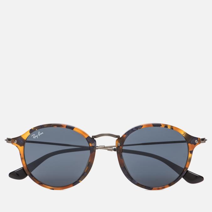 Солнцезащитные очки Ray-Ban Round Fleck Tortoise/Gunmetal
