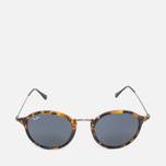 Солнцезащитные очки Ray-Ban Round Fleck Tortoise/Gunmetal фото- 0