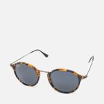 Солнцезащитные очки Ray-Ban Round Fleck Tortoise/Gunmetal фото- 1