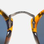 Солнцезащитные очки Ray-Ban Round Fleck Tortoise/Gunmetal фото- 4