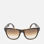 Солнцезащитные очки Ray-Ban Wayfarer Folding Brown/Tortoise фото- 0