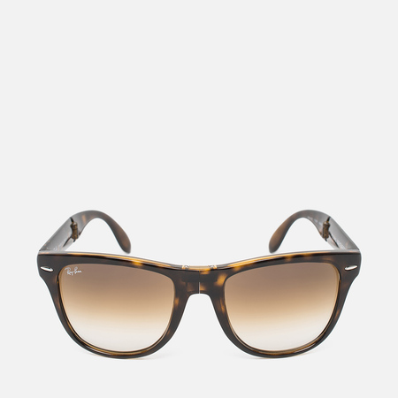 Солнцезащитные очки Ray-Ban Wayfarer Folding Brown/Tortoise