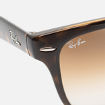 Солнцезащитные очки Ray-Ban Wayfarer Folding Brown/Tortoise фото- 2
