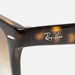 Солнцезащитные очки Ray-Ban Wayfarer Folding Brown/Tortoise фото- 3