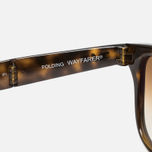 Солнцезащитные очки Ray-Ban Wayfarer Folding Brown/Tortoise фото- 5