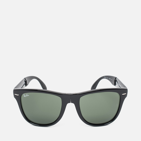 Ray-Ban Wayfarer Folding Sunglasses Green/Black