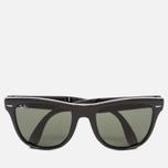 Солнцезащитные очки Ray-Ban Wayfarer Folding Green/Black фото- 0