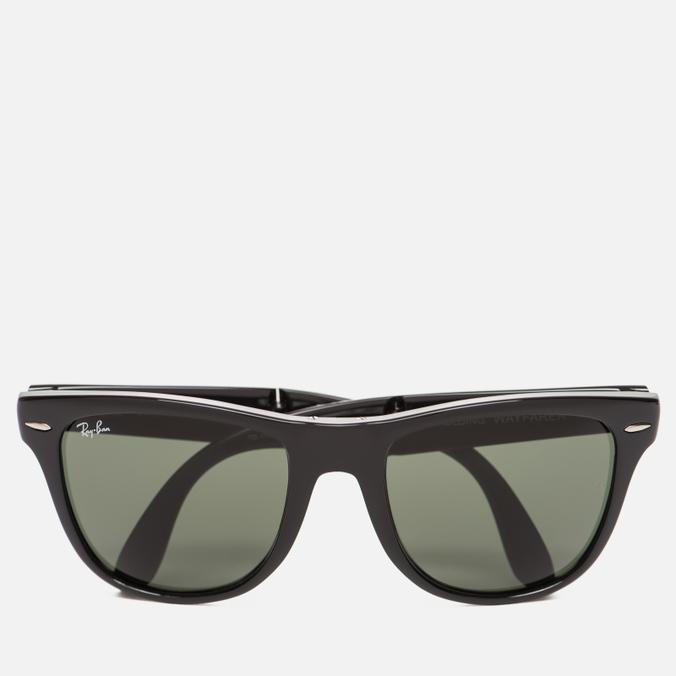 Солнцезащитные очки Ray-Ban Wayfarer Folding Green/Black