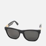 RETROSUPERFUTURE Classic Gianni Sunglasses Black/Gold photo- 1