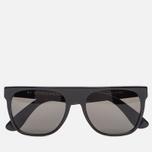 Солнцезащитные очки RETROSUPERFUTURE Flat Top Black фото- 0