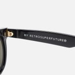Солнцезащитные очки RETROSUPERFUTURE Flat Top Black фото- 2