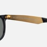 Солнцезащитные очки RETROSUPERFUTURE Flat Top Francis Black/Gold фото- 2