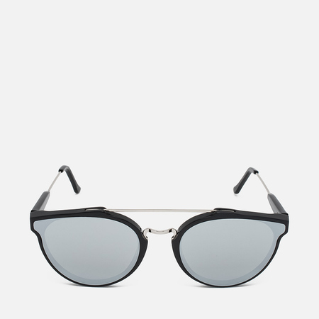 RETROSUPERFUTURE Giaguaro Forma Sunglasses Silver