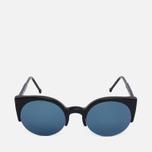 Солнцезащитные очки RETROSUPERFUTURE Lucia Black/Blue фото- 0