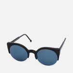 RETROSUPERFUTURE Lucia Sunglasses Black/Blue photo- 1