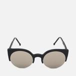 Солнцезащитные очки RETROSUPERFUTURE Lucia Black/Ivory фото- 0