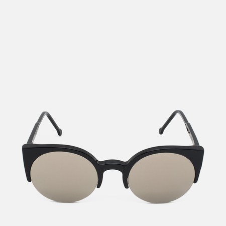 RETROSUPERFUTURE Lucia Sunglasses Black/Ivory