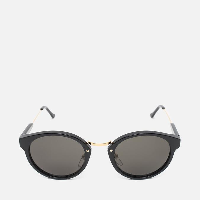 RETROSUPERFUTURE Panama Sunglasses Black