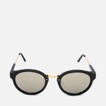 RETROSUPERFUTURE Panama Sunglasses Black/Ivory photo- 0
