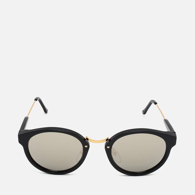 RETROSUPERFUTURE Panama Sunglasses Black/Ivory