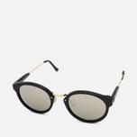 RETROSUPERFUTURE Panama Sunglasses Black/Ivory photo- 1