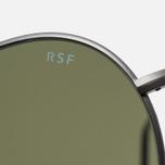 Солнцезащитные очки RETROSUPERFUTURE Wire Zero Blue фото- 4