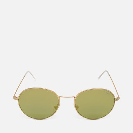 RETROSUPERFUTURE Wire Zero Sunglasses Gold
