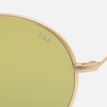Солнцезащитные очки RETROSUPERFUTURE Wire Zero Gold фото- 4