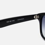 Солнцезащитные очки YMC Louis Black фото- 2