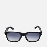 YMC Louis Sunglasses Matte Black photo- 0