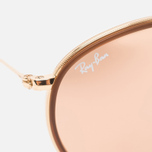 Солнцезащитные очки Ray-Ban Round Folding Copper Flash Gold фото- 2