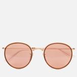 Солнцезащитные очки Ray-Ban Round Folding Copper Flash Gold фото- 0