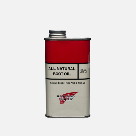Red Wing Shoes All Natural Boot Oil 237ml Oil For Shoes