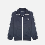 Fred Perry Laurel Wreath Tape Track Children's Track Jacket Dark Carbon photo- 0