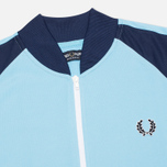Fred Perry Bomber Track Men's Track Jacket Alaskan Blue photo- 1