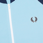 Fred Perry Bomber Track Men's Track Jacket Alaskan Blue photo- 2