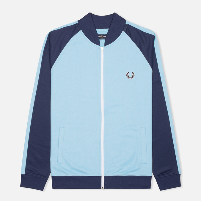 Fred Perry Bomber Track Men's Track Jacket Alaskan Blue